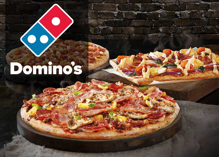 8 95 Traditional Large Pizza S From Domino S Pizza Brooklyn Park