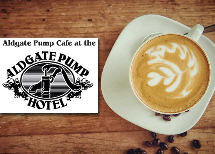 Aldgate Pump Cafe