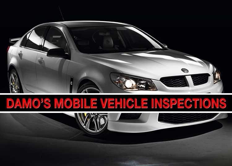Damo's Mobile Vehicle Inspections