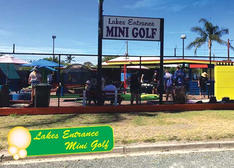 Lakes Entrance Mini Golf