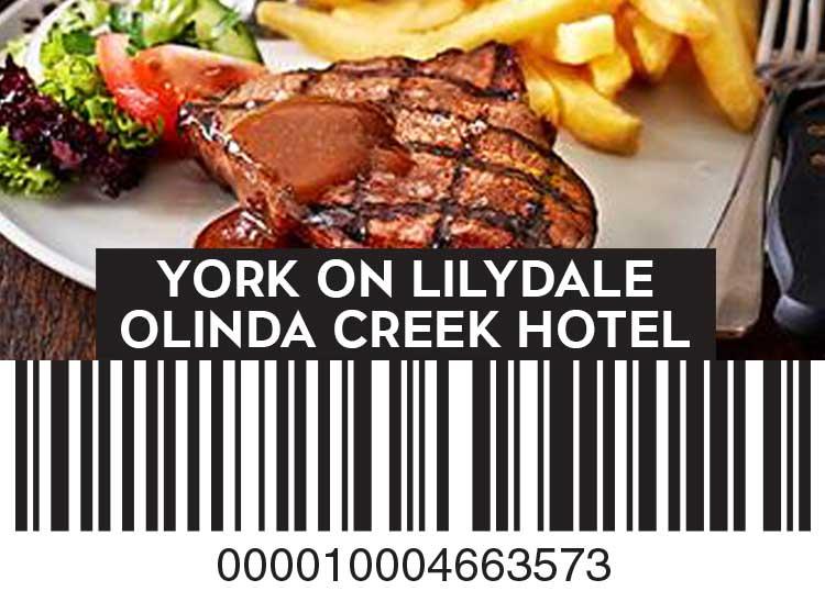 York On Lilydale and Olinda Creek Hotel