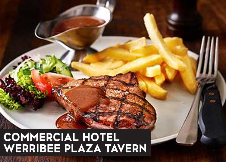 Commercial Hotel and Werribee Plaza Tavern