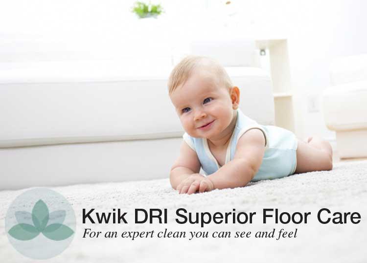 Kwik DRI Superior Floor Care