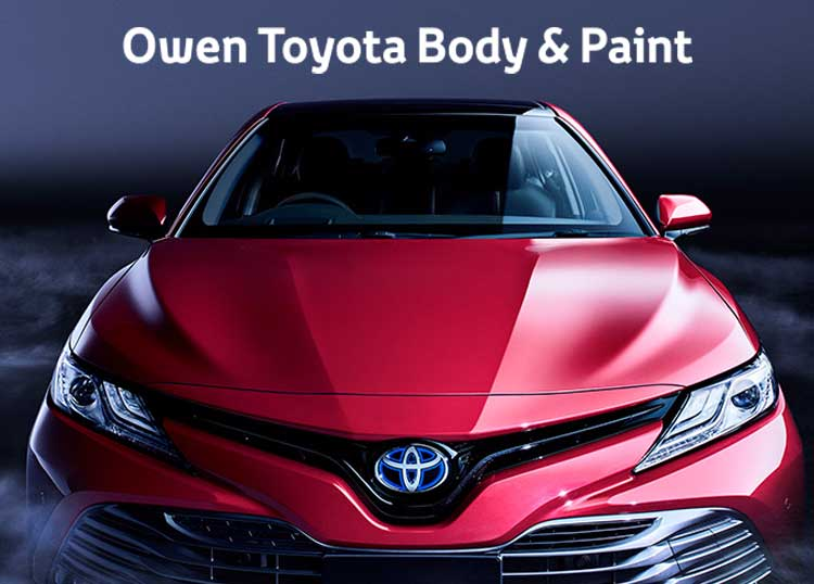 Owen Toyota Body and Paint