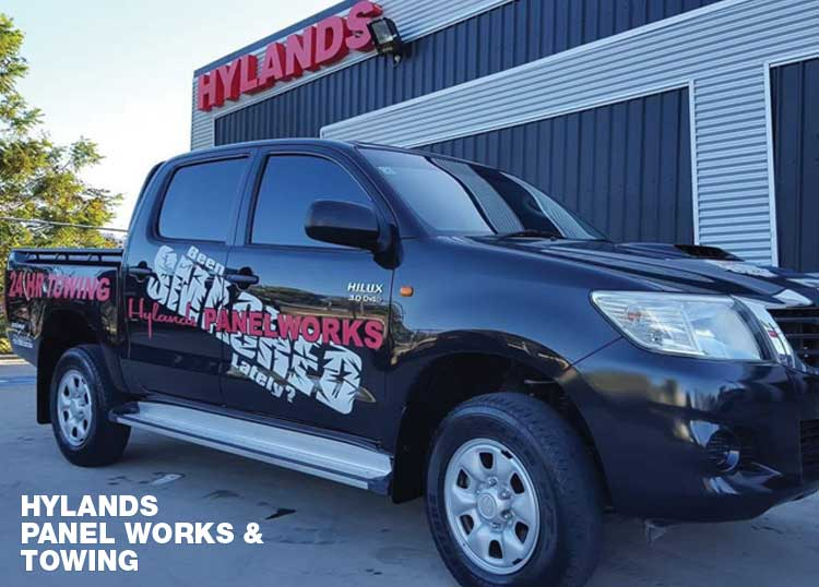 Hylands Panel Works & Towing