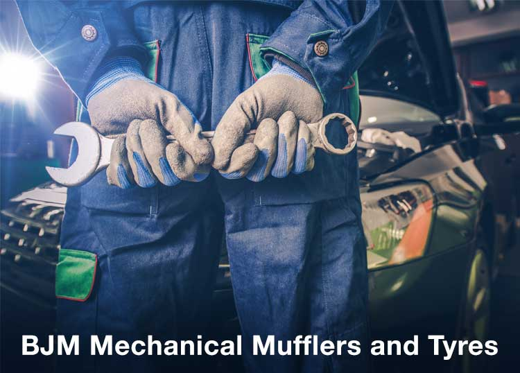BJM Mechanical Mufflers and Tyres