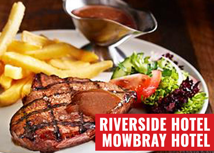 Riverside Hotel and Mowbray Hotel
