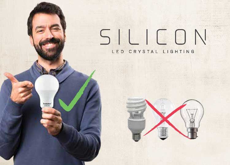 Silicon LED Crystal Lighting