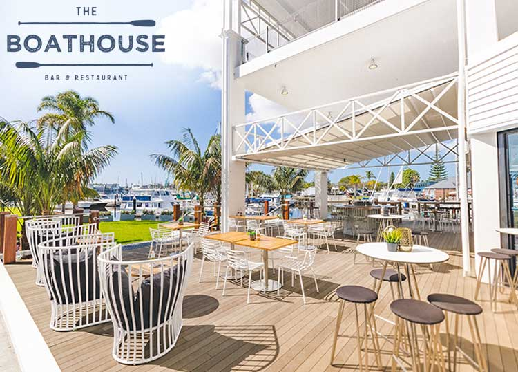 The Boathouse Bar & Restaurant - Sails Port Macquarie by Rydges