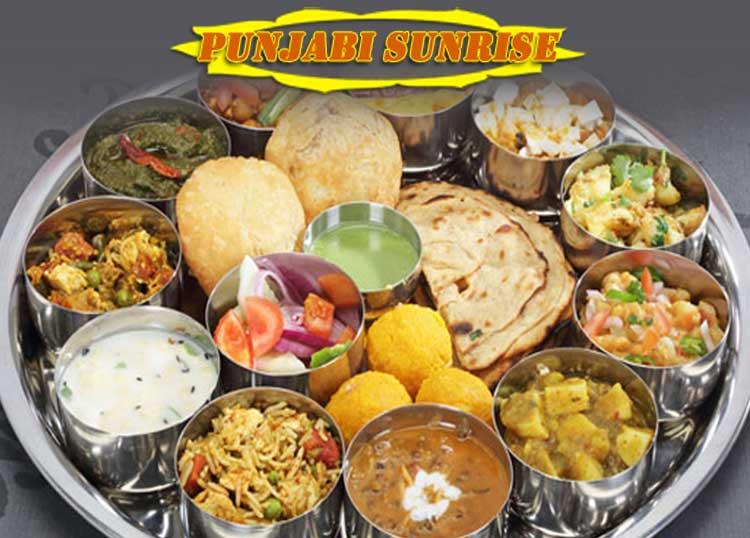 Punjabi Sunrise indian restaurant