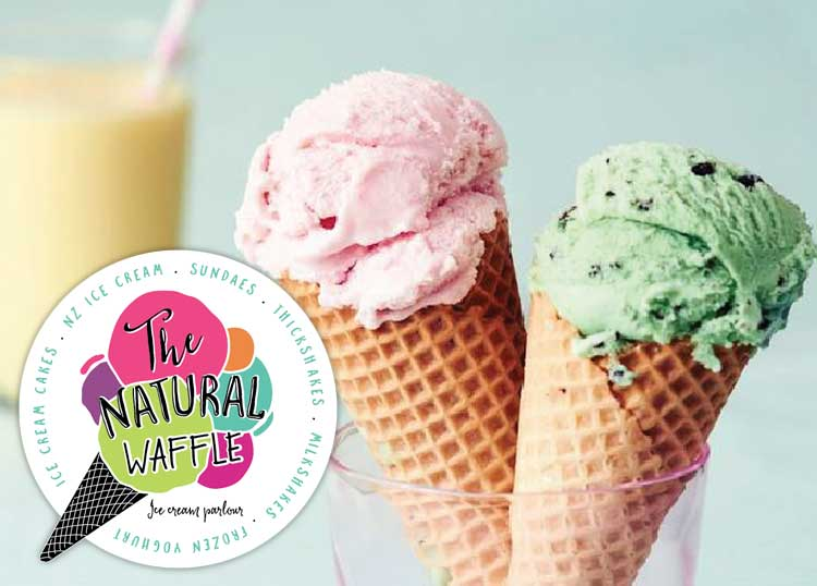 The Natural Waffle Cone Ice Cream Parlour