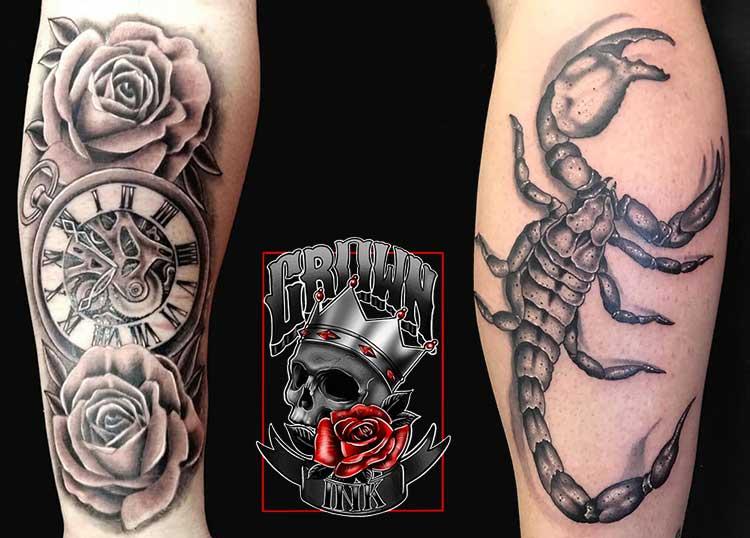 Crown Ink Tattoo