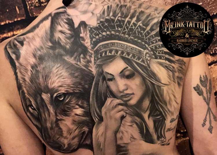 Mr. Ink Tattoo & Barber Lounge