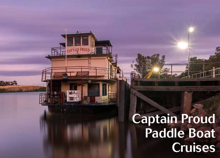 Captain Proud Paddle Boat Cruises