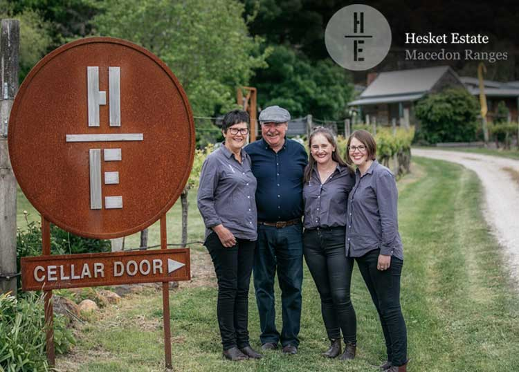 Hesket Estate Macedon Ranges Winery