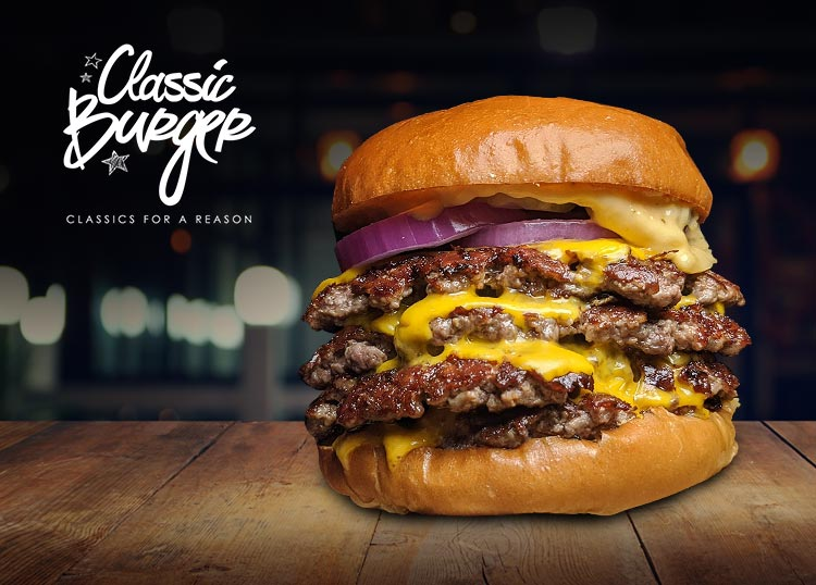 Classic Burger Liverpool